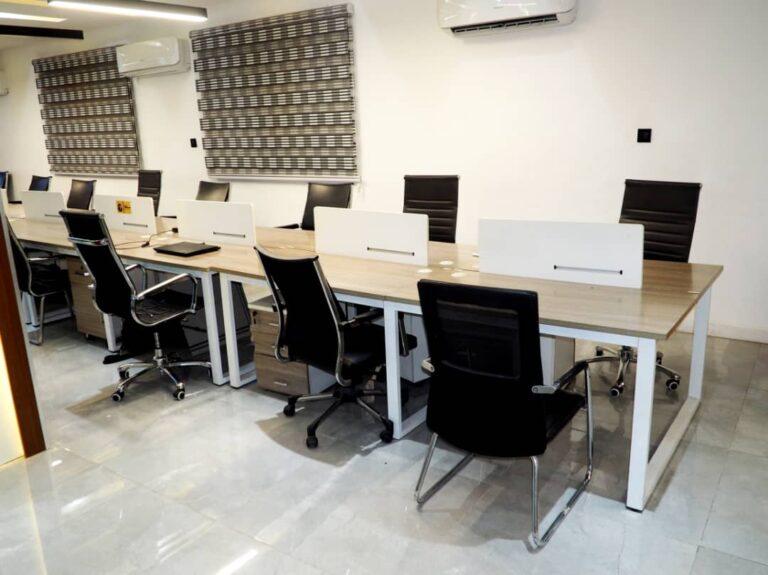 Shared desks